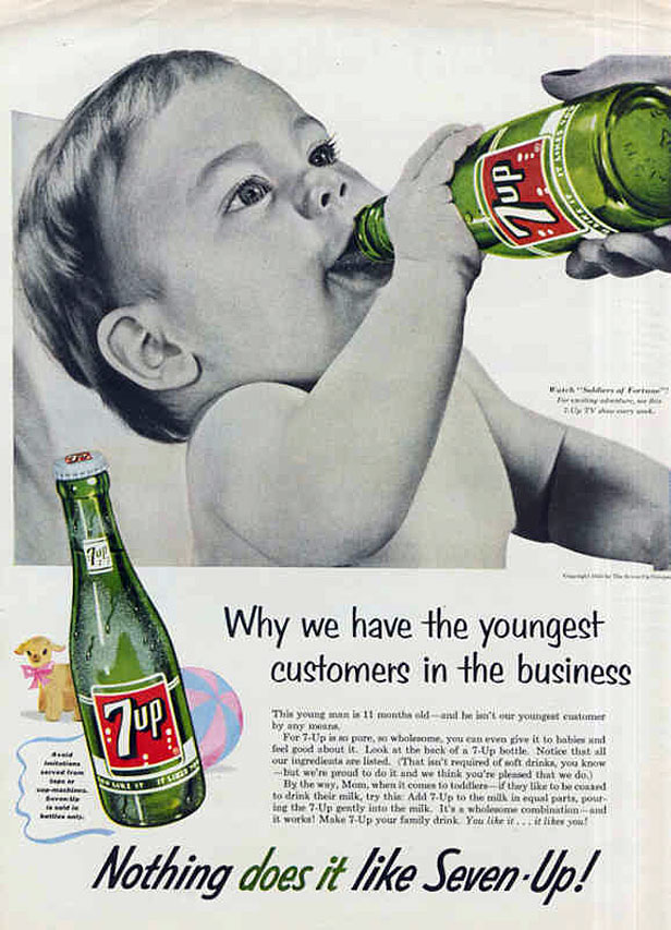 Soda pop ad